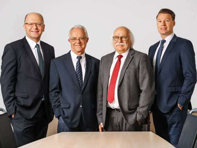 V.l.n.r.: Stefan Schumacher, Willi Tiltmann, Dieter Turowski, Micha Hildebrandt (Bild: Vigo)
