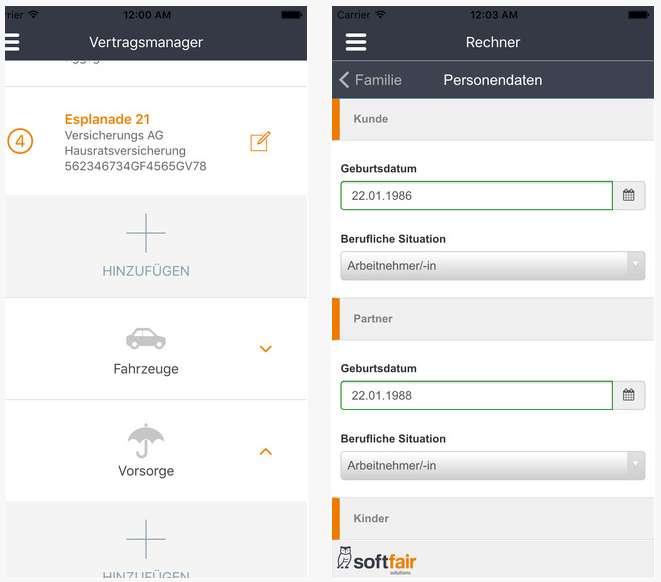 neue apps f r endkunden und das genaue gegenteil versicherungsjournal deutschland. Black Bedroom Furniture Sets. Home Design Ideas
