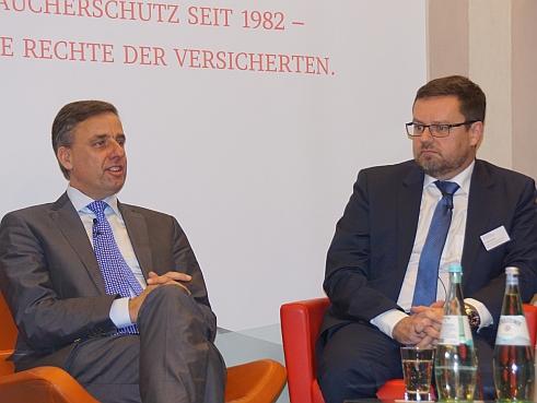 Bernd Neumann (li.), Peter Schwark (re.) (Bild: Brüss)