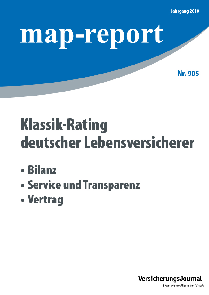 Map-Report 905 - Klassik-Rating deutscher Lebensversicherer