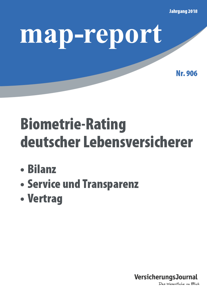 Map-Report 906 - Biometrie-Rating deutscher Lebensversicherer