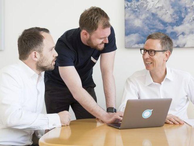 Die Gründer von Ottonova (von links): Frank Birzle , Sebastian Scheerer, und Dr. Roman Rittweger (Bild: Ottonova)