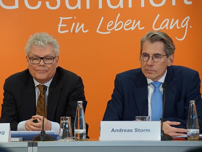 Hans-Dieter Nolting (links), Andreas Storm (Bild: Brüss)