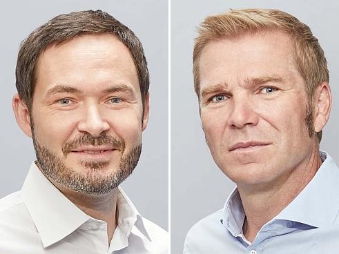 Martin Schneider (links) und Felix Benedikt (Bild: Allvest)