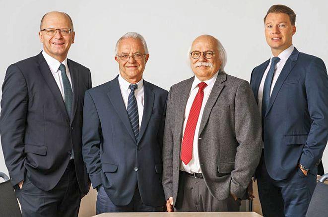 Der Vigo-Vorstand (v. li.): Stefan Schumacher, Willi Tiltmann, Dieter Turowski und Micha Hildebrandt