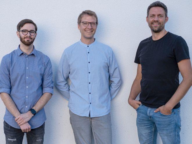 Kevin Hoene, Henning Trenkamp und Thorsten Trimpe (v.li.) (Bild: privat)