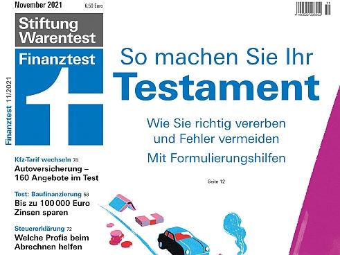 Finanztest: Bis 100.000 Euro Zinsunterschied bei Baudarlehen - VersicherungsJournal Deutschland