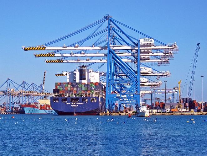 Containerhafen (Bild: Pixabay CC0)