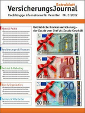 Cover VersicherungsJournal Extrablatt 3|2012