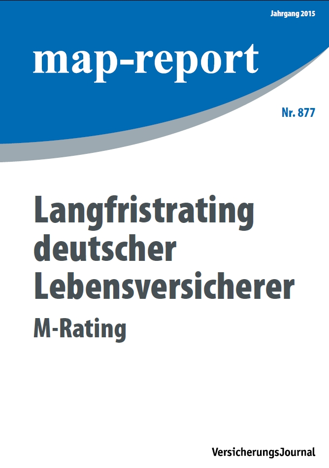 Map-Report 877 - Langfristrating deutscher Lebensversicherer - M-Rating
