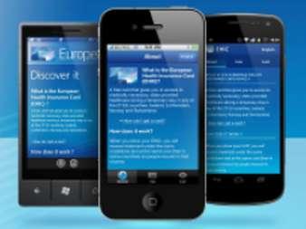 Apps zur Europäischen Krankenversicherungskarte (Bild: EU-Kommission)