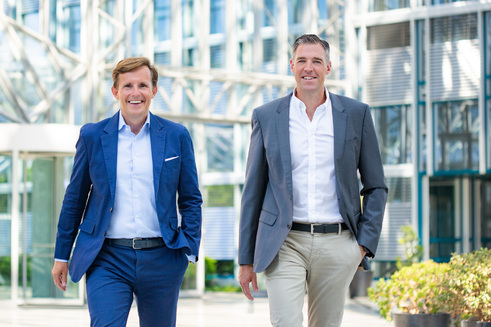 Claus Gillen (li.) und Bernd Steinhart (re.) (Bild: Fonds Finanz)
