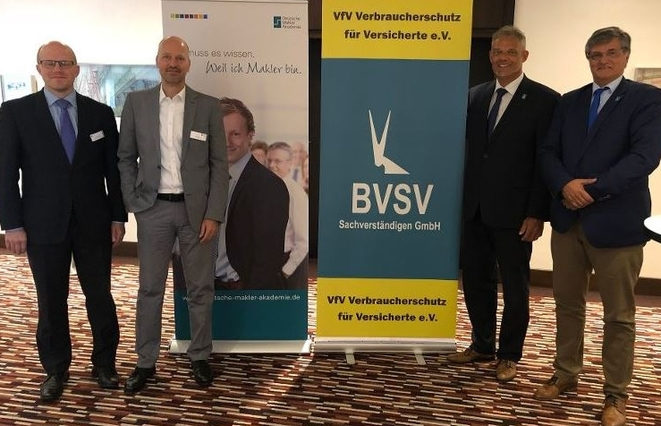 Nils Keller, Joachim Zech, Andreas Schwarz, Hans-Joachim Schlimpert (Bild: DMA/BVSV)