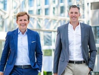 Claus Gillen (links) und Bernd Steinhart (Bild: Fonds Finanz)