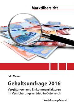 Cover Gehaltsstudie (Bild: VersicherungsJournal)