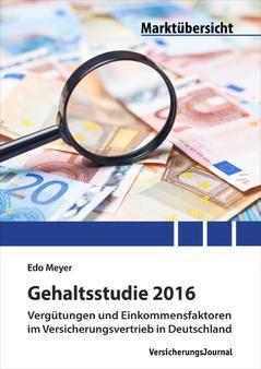 Gehaltsstudie Cover (Bild: VersicherungsJournal)