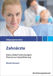 Zielgruppenanalyse Zahnärzte Cover (Bild: VersicherungsJournal)