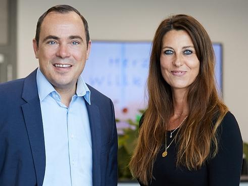 Thomas Vogel und Stephanie Adolpffs (Bild: Admiraldirekt)