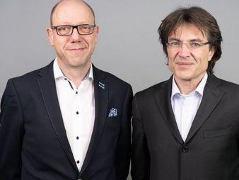 Vorstand der Bayerischen Digital: Michael Brand (links) und Thomas Wolf (Bild: die Bayerische)