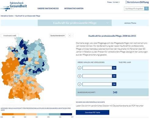 Bild: Screenshot Faktencheck-Gesundheit.de