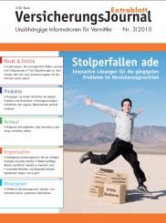 Titelbild VersicherungsJournal Extrablatt 3-2010