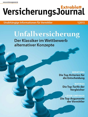VersicherungsJournal Extrablatt 1|2015