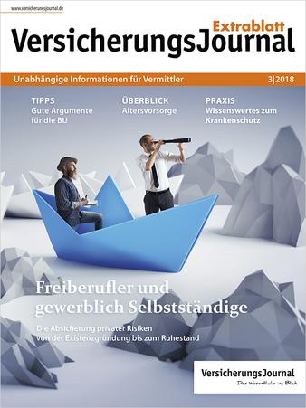 VersicherungsJournal Extrablatt 3-2018 (Bild: VersicherungsJournal)