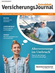 VersicherungsJournal Extrablatt 4|2018 Titelseite