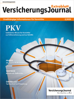 Cover Extrablatt (Bild: VersicherungJournal)