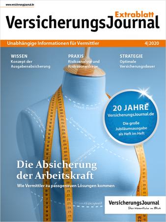 Extrablatt 4-2020 Titelseite (Bild: VersicherungsJournal)