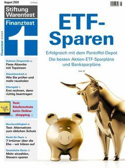 Finanztest Cover (Bild: Finanztest)