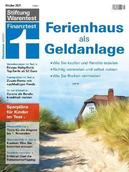 Finanztest Cover (Bild: Stiftung Warentest)