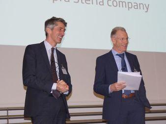 Bernd Heinemann (links) und Fred Wagner (Bild: Brüss)