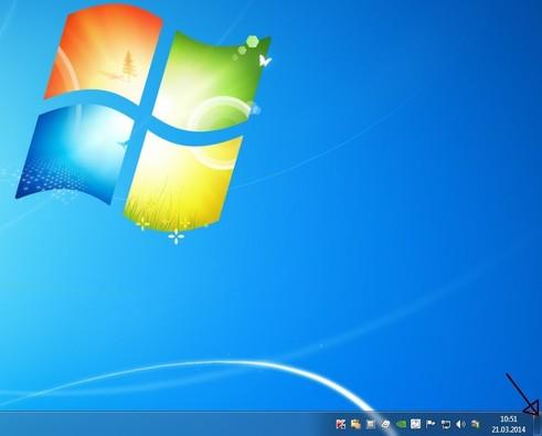 Desktop einblenden