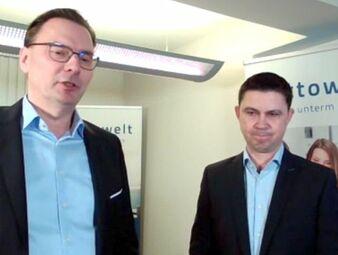 Martin Ziems (li.) und Michael Scheerer (re.) (Bild: Screenshot Schmidt-Kasparek)