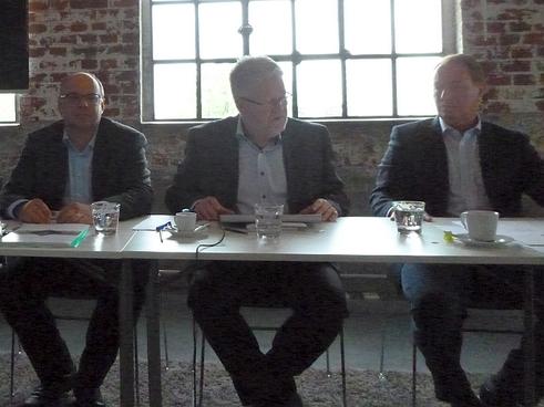 Von links: Marco Metzler, Holger Beitz und Helmut Posch (Bild: Ullrich)