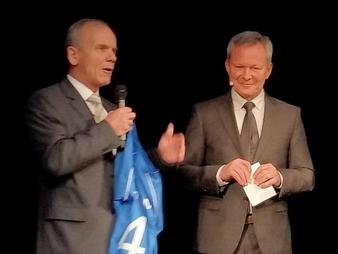 Von links: Arno Falkenstein, Udo Bayer (Bild: Meyer)