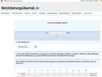 Bild: Screenshot VersicherungsJournal.de