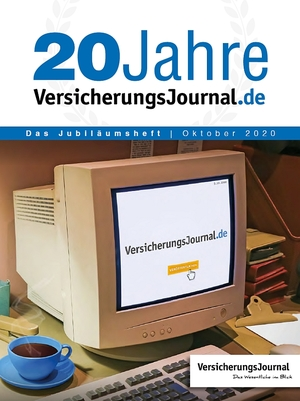 20 Jahre VersicherungsJournal - Titelseite