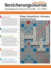 Cover VersicherungsJournal Extrablatt 2-2012