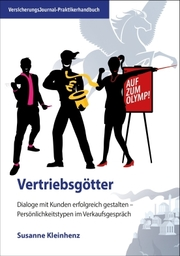 Praktikerhandbuch Vertriebsgötter, Titelbild (Bild: VersicherungsJournal)